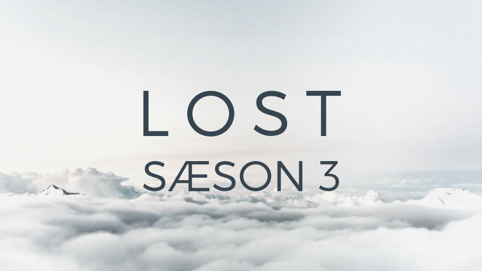 LOST SÆSON 3 · Online-kursus