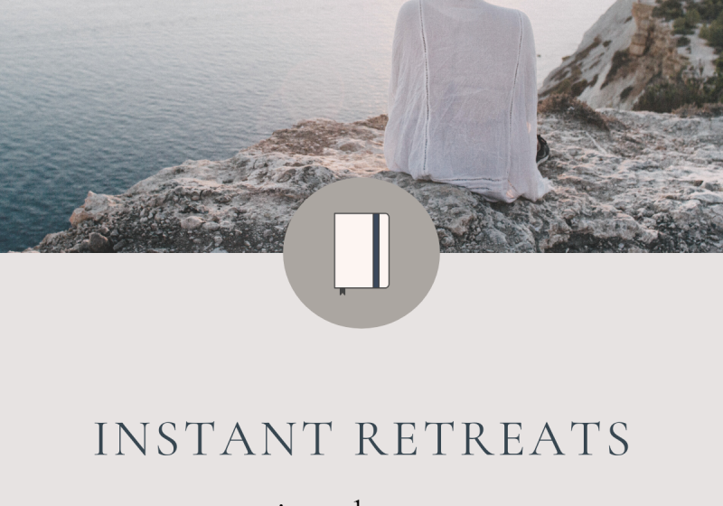 Instant Retreats + tiny adventures